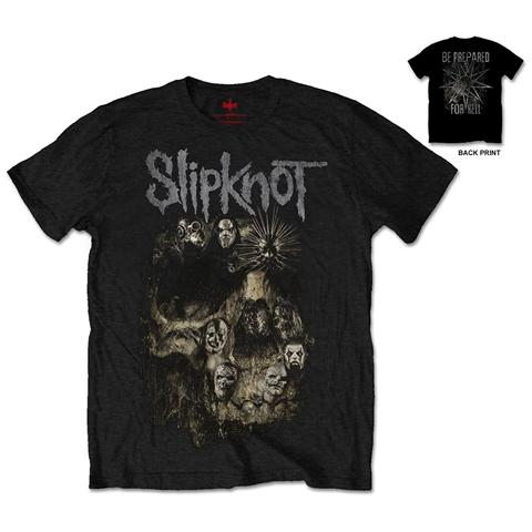 ROCK OFF Slipknot - Skull Group (t-shirt Unisex Tg. S)