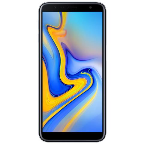 Galaxy J6+ Grigio Display 6'' HD Quad Core Ram 3GB Storage 32GB +Slot MicroSD Wi-Fi + 4G Fotocamera 13Mpx Android - Tim Italia
