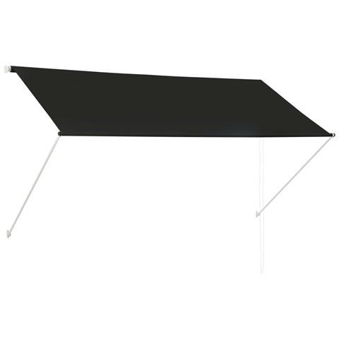Tenda Da Sole Retrattile 250x150 Cm Antracite
