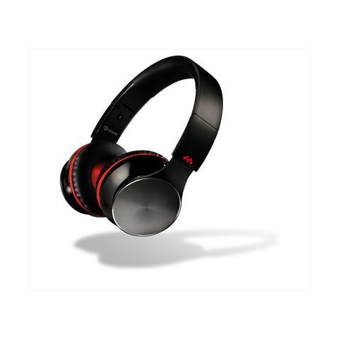 MELICONI Cuffia Bluetooth Speak Air con Microfono Colore nero / rosso