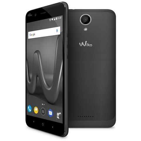 "WIKO Harry Grigio 16 GB 4G / LTE Dual Sim Display 5"" HD Slot Micro SD Fotocamera 13 Mpx Android Italia"