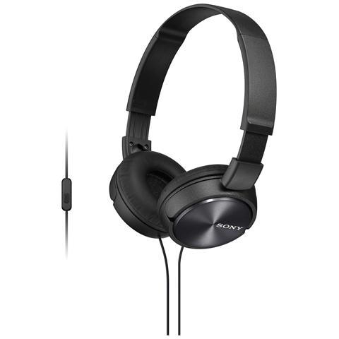 Sony Cuffia Chiusa MDR-ZX310AP + Microfono colore Nero