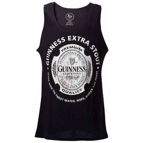 BIOWORLD Guinness - Black (Top Donna Tg. S)