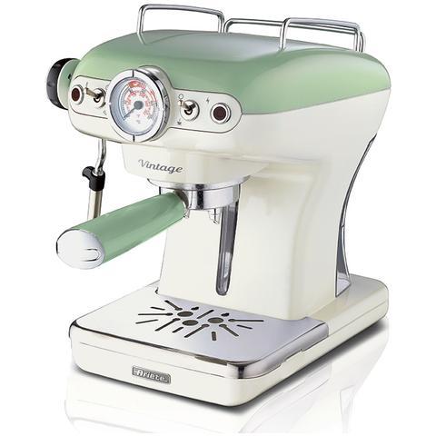 Macchina da Caffè Vintage Potenza 900 Watt Colore Verde