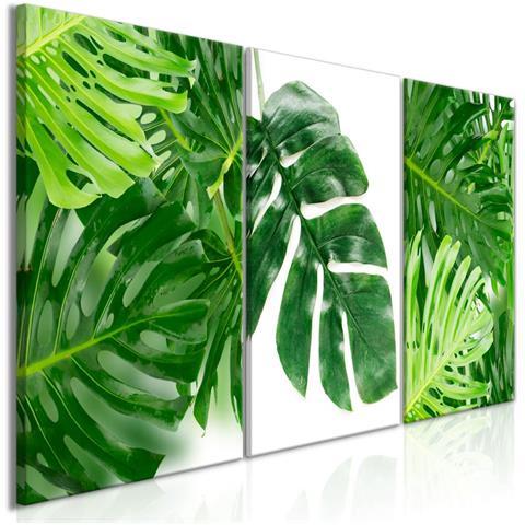 Quadro Palm Leaves 3 Parts