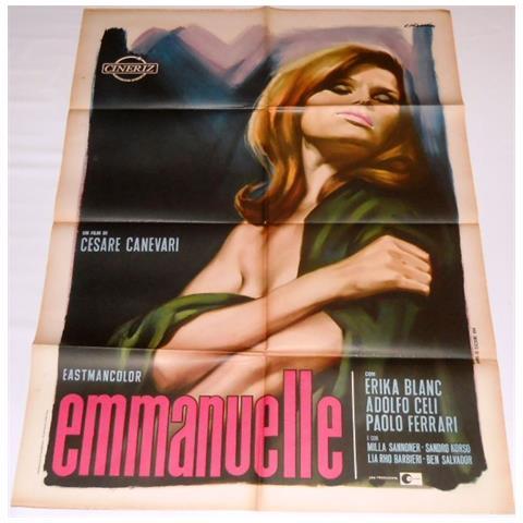 Vendilosubito Manifesto Originale Del Film Emmanuelle 1969
