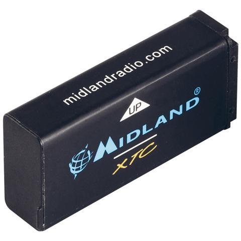 MIDLAND Batteria al Litio per Action Cam XTC270 Capacità 900 mAh