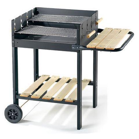 55565 Serie Black Line Barbecue in Acciaio Verniciato