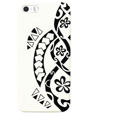 AIINO Custodia Tattoo Turtle per iPhone 5/5S - Bianco