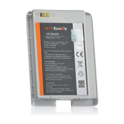 FONEX Batteria Li-Ion High Capacity 800 mAh per LG U900 Silver