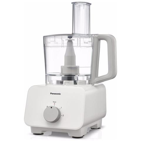 Robot da Cucina Food Processor Capacità 2.5 Litri Colore Bianco
