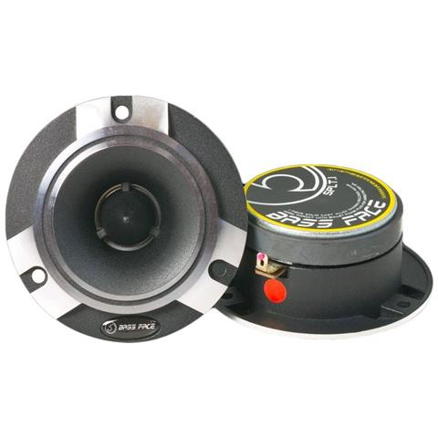 BASS FACE Splt. 1 Coppia di Altoparlanti per Auto Potenza 600 W per Alte e Medie Frequenze