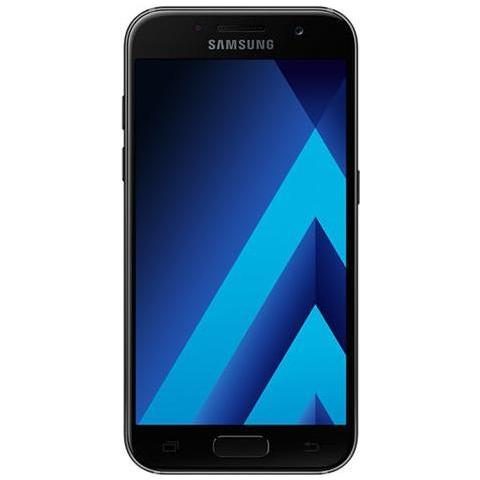 "SAMSUNG Galaxy A3 (2017) Nero 16 GB 4G / LTE Display 4.7"" HD Slot Micro SD Fotocamera 13 Mpx Android Vodafone Italia"