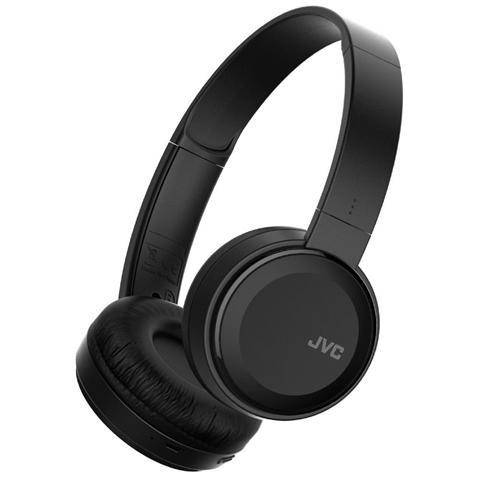 JVC HA-S30BT-B, Stereofonico, Bluetooth, Padiglione auricolare, Nero, Bluetooth, Sovraurale