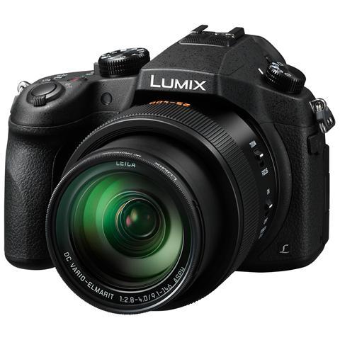 PANASONIC Lumix FZ1000 Nero Sensore CMOS 20Mpx Zoom Ottico 16x Display 3'' Filmati UHD 4K Stabilizzato