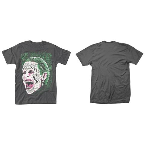 PHM Suicide Squad - Joker Tattooed Face (T-Shirt Unisex Tg. XL)