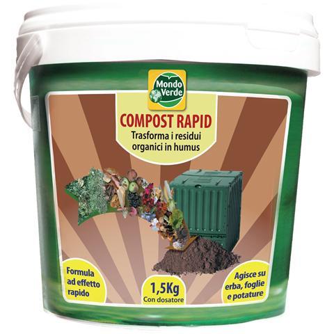 Mondo Verde Compost Rapid Attivatore Di Compostaggio 1,5 Kg