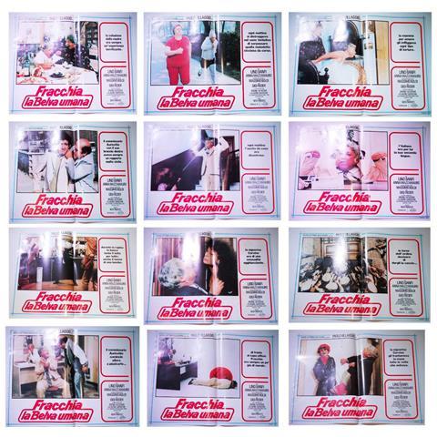 Vendilosubito Foto Busta Completo Originale Del Film Fracchia La Belva Umana