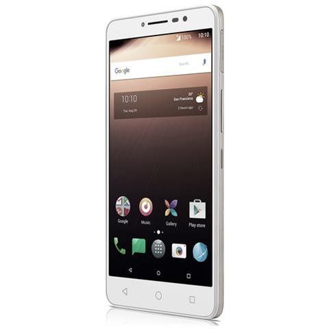 "TIM XL Bianco / Argento 16 GB 4G / LTE Display 6"" HD Slot Micro SD Fotocamera 13 Mpx Android Tim Italia"