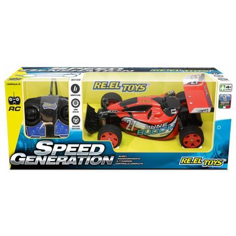 PLAYMATES Re. el Toys Speed Generation Dune Buggy Radiocomandato-scala 1/28-cm. 15, Multicolore, 8001059021628