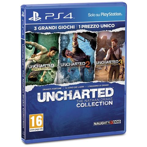 SONY PS4 - Uncharted: The Nathan Drake Collection