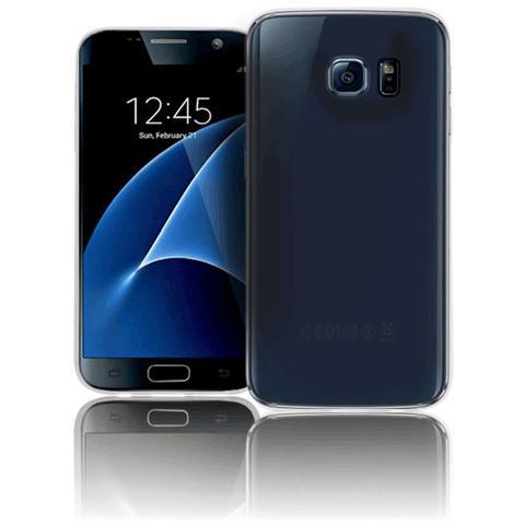 FONEX Inv Cover Ultra Sottile 0,2 mm in Morbido TPU per Galaxy S7 Colore Trasparente
