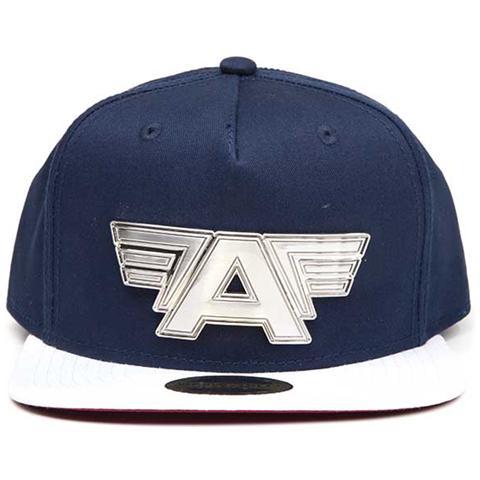 BIOWORLD Captain America Civil War - Metal Plate Logo Blue (Cappello)
