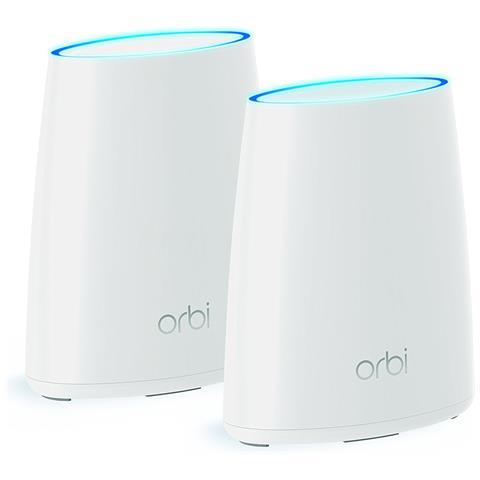 Orbi RBK40 Sistema WiFi Tri-Band AC2200 Copertura fino a 250mq