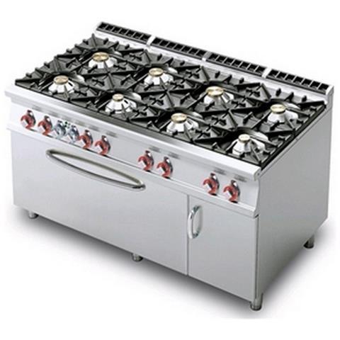 Cucina A Gas Professionale Afp / Cf8-916gv