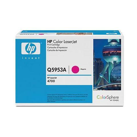 Image of Q5953A Toner Originale Nero per HP Color LaserJet 4700 Capacit