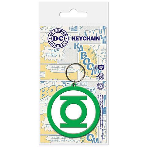 PYRAMID Dc Comics - Green Lantern - Logo (Portachiavi Gomma)