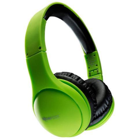 BOOMPODS Cuffie On-Ear Headpods Pieghevoli colore Verde