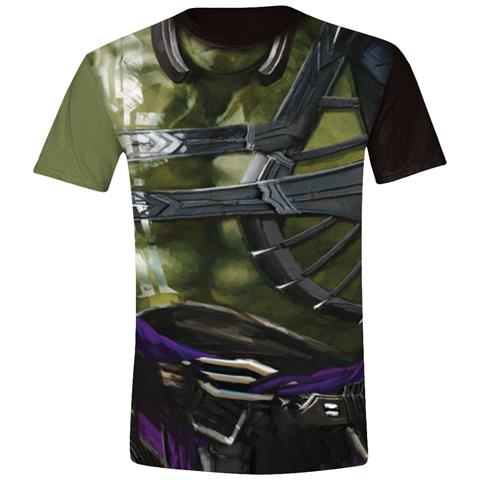 TimeCity Thor: Ragnarok - Hulk Costume Green Black (T-Shirt Unisex Tg. L)
