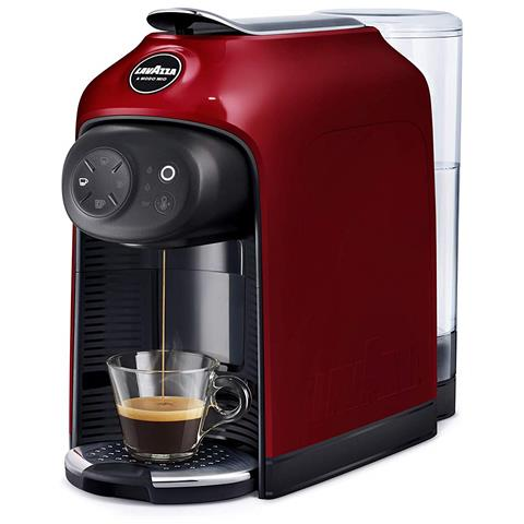 Macchina da Caffè Espresso Automatica Idola A Modo Mio Serbatoio 1.1 Lt. Potenza 1500 Watt Colore Rosso