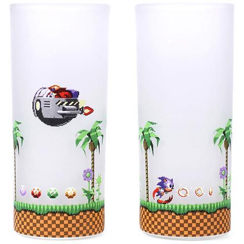 Sega: Sonic - Sonic & Eggman Glasses Set Of 2 (set 2 Bicchieri)