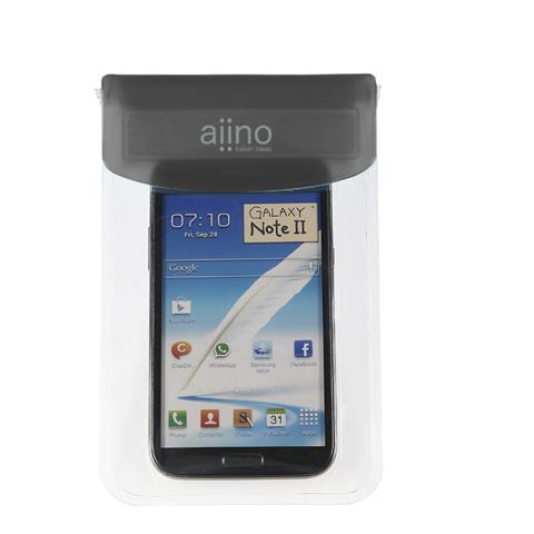 AIINO Custodia Sea Waterproof e Universale per smartphone - Black