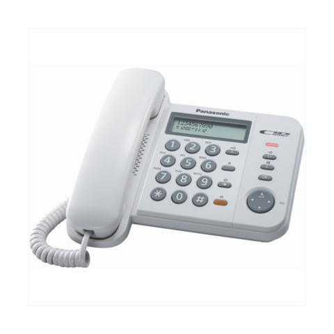 PANASONIC Telefono Base Panasonic 580ex1 White