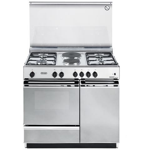 Cucina Elettrica SEX 8542 N 4 Fuochi a Gas Forno Elettrico Dimensioni 86x50 cm