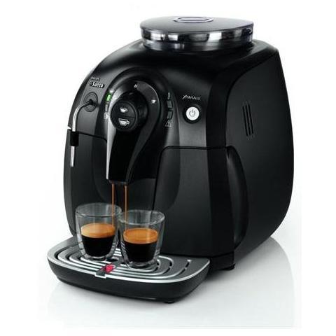 HD8743/13 Xsmall Macchina Caffè Serbatoio 1 Litro Potenza 1400 Watt Colore Nero