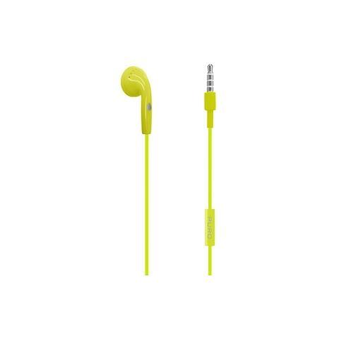 PURO Auricolare Mono con Microfono in-ear - Verde