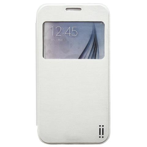 AIINO Custodia C-View per Samsung Galaxy S6 - White