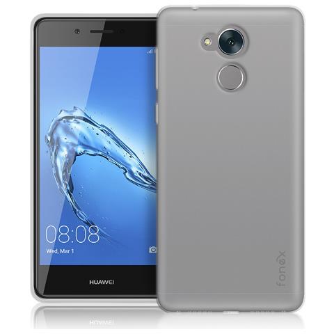 FONEX Inv Cover Ultra Sottile 0,2 mm in Morbido TPU per Huawei Nova Smart Colore Trasparente