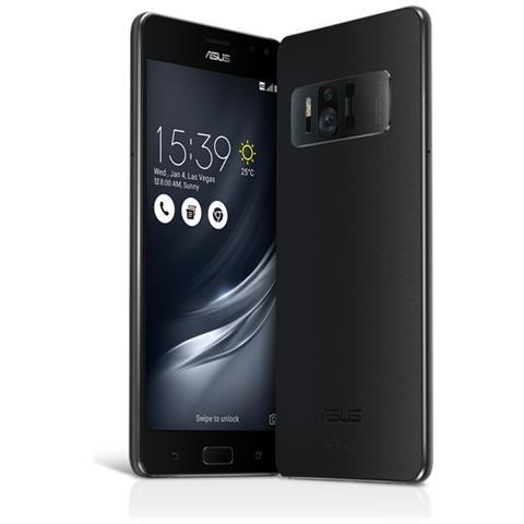 """ASUS ZenFone AR Nero 128 GB 4G / LTE Display 5.7"""" WQHD Slot Micro SD Fotocamera 23 Mpx Android Tim Italia"""