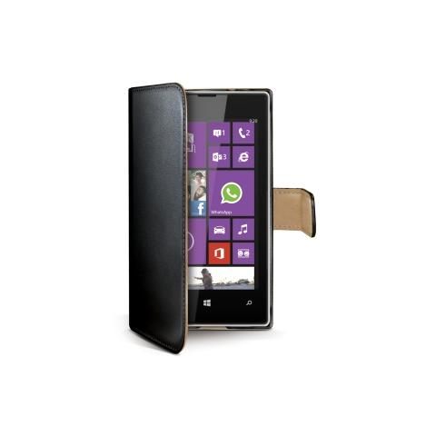 CELLY Custodia Wally per Lumia 530 - Nero