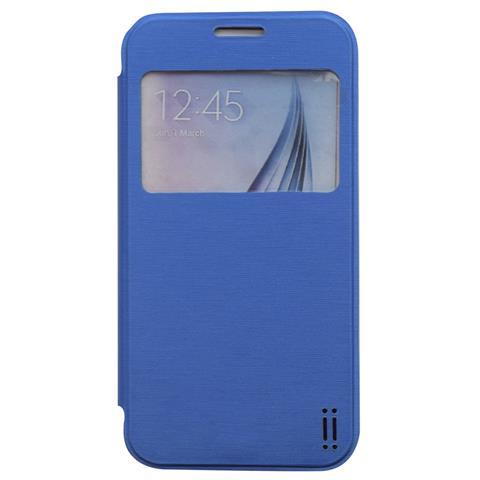 AIINO Custodia C-View per Samsung Galaxy S6 - Blue