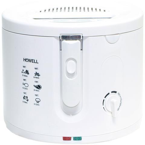 Friggitrice Elettrica Capacità 2.5 litri 1600 W Colore Bianco