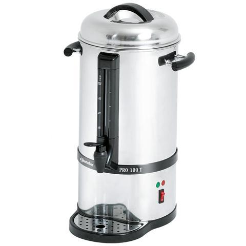 Percolatore per caffè in acciaio inox 100 tazze A190195