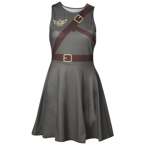 BIOWORLD Nintendo - Zelda Link Belt Dress (Vestito Donna Tg. XL)