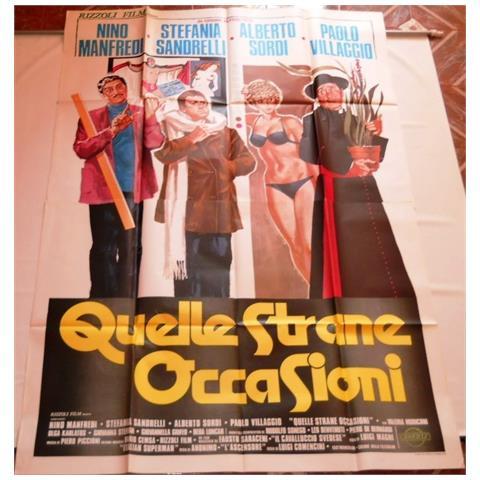 Vendilosubito Manifesto Originale Del Film Quelle Strane Occasioni 1976