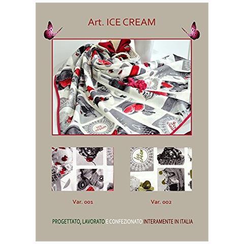 Cesto Portapane Icecream (rosso)